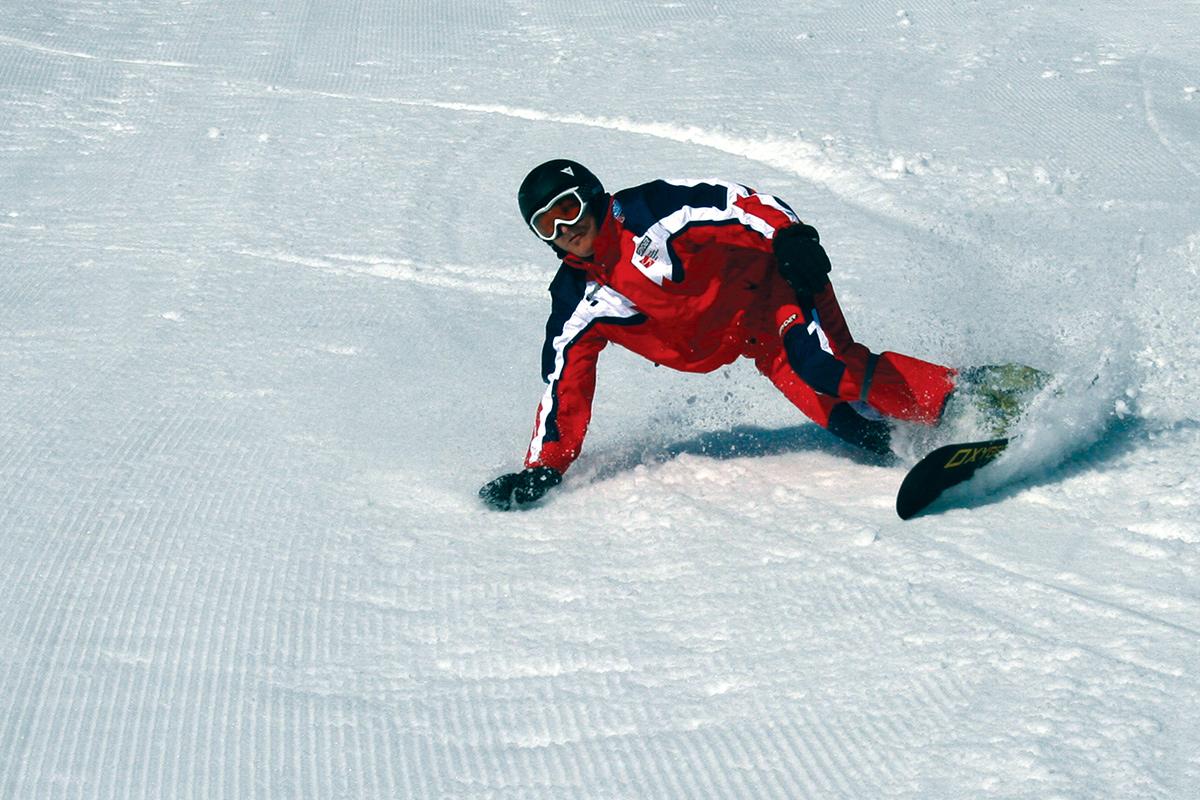 Snowboard school skischule flachau in the heart of ski