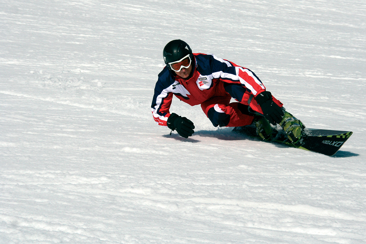 Snowboard school skischule flachau in the heart of